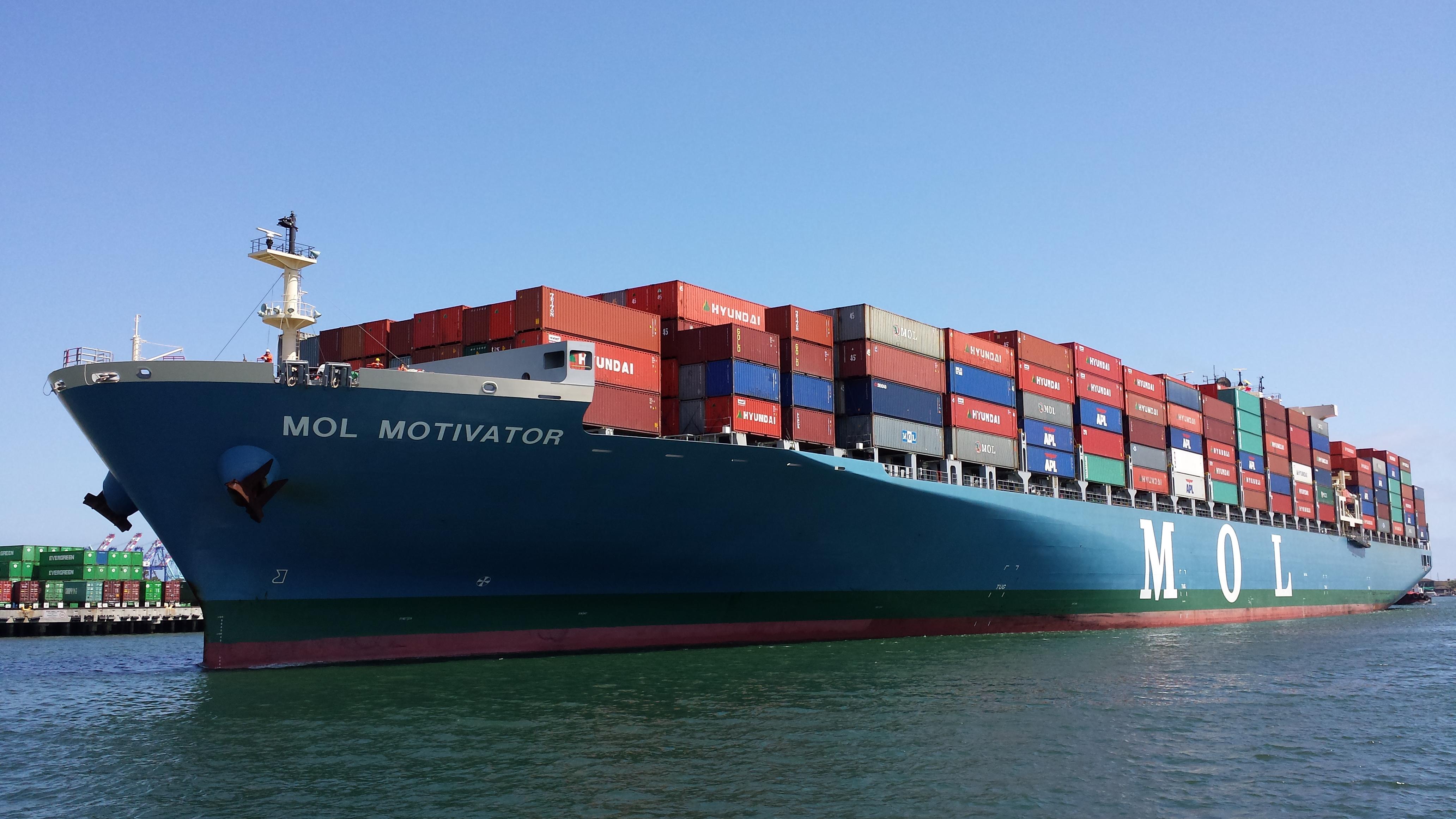 mol container ship